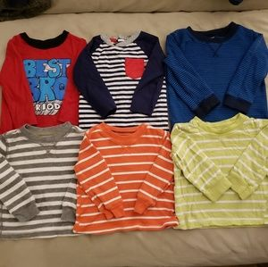 Long sleeve boys shirts 12 month size